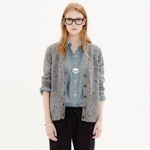 Madewell Texturework Cardigan Sweater Sz Small